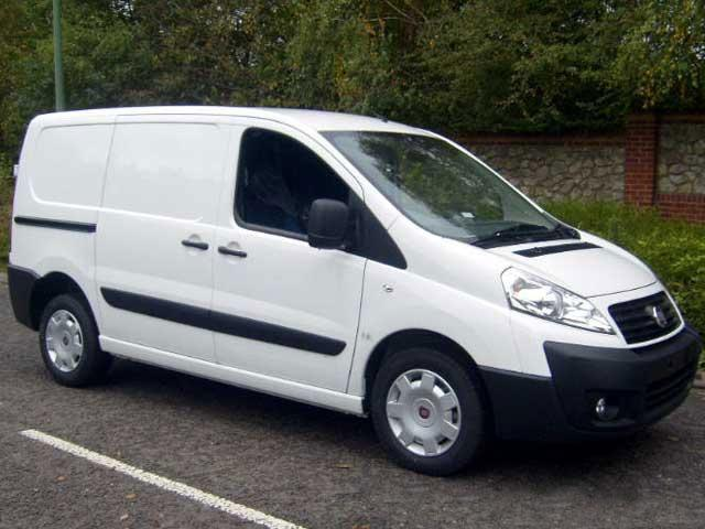 vans for poor credit Fiat Scudo